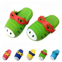 Wholesale New hot new candy colored jelly shoes Baby cartoon sandals Skid breathable slipper T