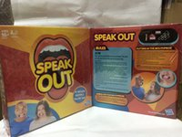 Wholesale New Hottest Speak Out Game KTV party game cards for party Christmas gift newest best selling toy