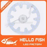 Wholesale S2014 new W LED PANEL Circle Light VAC MD LED Round Ceiling board the circular lamp board for Dining room