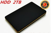 Wholesale Exempt postage New hard disk TB USB2 hdd extern quot Portable External Hard Drive Mobile Hard Disk HDD LAPTOP