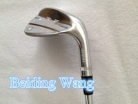 Wholesale 3PCS Golf Vokey SM6 Wedge Set Degree With Steel Shaft Black Champagne Silver Color Golf Clubs SM Wedge