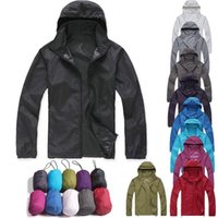 Wholesale Hot Seller Men s Women s Anorak Coat Jackets For Outdoor Sports Cycling Camping Hiking Waterproof Windproof Nylon DX126 Free Shipp