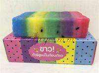 Wholesale DHL New Arrivals OMO White Plus Soap fruitamin soap Mix Color Plus Five Bleached White Skin Gluta Rainbow Soap