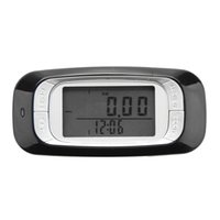 Wholesale 3D Sensor Multi Function LCD Display Pedometer with Day Memory Step Calorie Distance Counter Black White