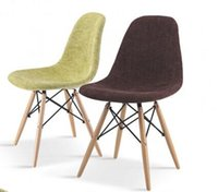 Wholesale eames chair with fabric seat hotel chair dining chair coffee chair