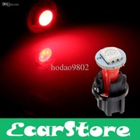 Wholesale PC74 T5 LED Twist Socket Red Instrument Panel Cluster Plug Dash Light Bulb