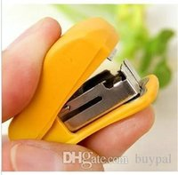 Wholesale by DHL New stationery supplier Stapler mini Stapler Binding machine with stapling nail RJ1209 dd