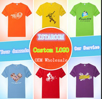 achat en gros de logo d'entreprise cadeaux-2016 Le coton promotionnel de qualité supérieure OEM personnalise la promotion en gros de polo de t-shirt de logo pour des cadeaux d'affaires et des cadeaux publicitaires