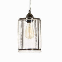 art deco kitchen cabinets - Clear antique glass pendant lamp For Kitchen Lights Cabinet Living dining room Edison Simple Glass Pendant Light Fixture