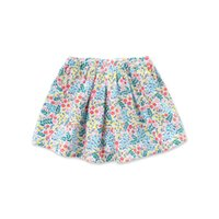 bella ball gown - DAVE BELLA Spring Summer child toddler baby girl mini skirts floral pleated pocket ball gown skirt for girl children kid girl clothes
