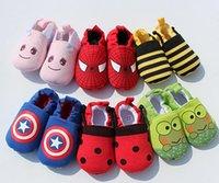 Precio de Zapatos de hombre araña para niños-Bebé infantil los zapatos del hombre araña del capitán América de los vengadores Zapatos impresos animales del animal grande del héroe del niño