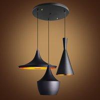 abc restaurants - Modern Pendant Lights Design By Tom Dixon Beat Musical Instrument ABC Pendant Light Hanging Lamp E27 Base Restaurant Cafe Home