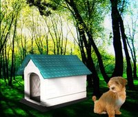 Wholesale Eco friendly pet house Durable resin house for pets High quality new design outdoor dog house Foldable Dog Houses Kennels