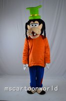 Wholesale High quality Goofy dog mascot costume A Goofy Movie mascot Christmas Halloween party