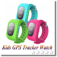 Wholesale Children Gift Q50 Kids Tracker Anti Lost Smart Watch Children Remote GPS Security SOS SIM Call GSM Phone