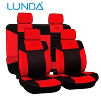 leather seat cover - LUNDA New Design Imitation leather Universal Fit Most Auto Seat Covers Car Cover Protecter Front Low Back Buckets Colour