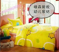 Wholesale Children s cotton textile bedding quilt cover sheet