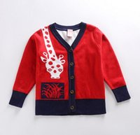 Wholesale Kids Sweaters Double Layer Thickening Sweater New Style Cotton Sweater C444 Free Choose the Size Colors