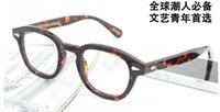 Wholesale 2016 Vintage Moscot Miltzen eyeglasses frame with original case man and woman eyeglasses frame