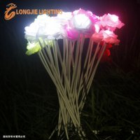 Wholesale Halloween Christmas holiday party party party decorations exhibited light Dream light section LED ground lamp roses