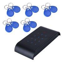 Wholesale X8 Security RFID Entry Door Lock ID Password Card Keypad Keys Black