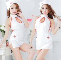 best nursing clothes - 2016 Best Sell COSPLAY temptation to nurse Uniform Sexy lingerie women costumes Sex Products Clothes with Hat