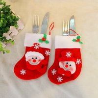Wholesale Christmas Decorations Gifts Santa Snowman Deer Stocking Xmas Home Decorations cm Hight Best Gifts for Christmas