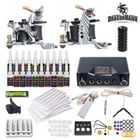 Cheap 2 Guns Beginner Tattoo Kits Best Professional Kit Professional tattoo kits tattoo kits