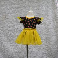 baby onesie pattern - lovely summer baby girl color yellow bud pattern o neck short sleeve tulle tutu romper dress baby girl onesie