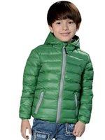 Wholesale Children Jackets Boys Girl Korean fashion down coat Years Baby Winter Warm Coat Kids fashion thick warm winter hooded Coat