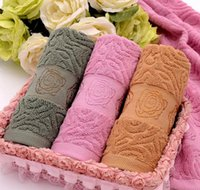 beach towels embroidered - 100 Cotton Embroidered Towel Sets Bamboo Beach Bath Towels for Adults Luxury Brand High Quality Soft Face Towels
