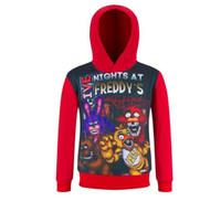 Wholesale new Five nights at freddy kids Hoodies Sweatshirts Children s long sleeved sweater Kids Clothing dhl