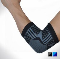knee brace and support - 2016 New Sport and Fitness Elbow knitted thick Support Basketball crash Support Brace Pads Sport Elbow Arm Warmers