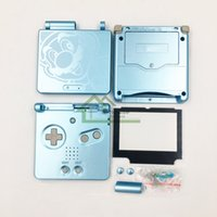 Wholesale Super Mario Shell Housing Cover for GBA SP Best Cheap Clorful Full Housing Replacement Parts for Game Shell