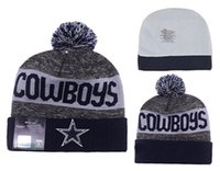 Wholesale DALLAS Football Beanies Team Hat Winte Rrugby Caps Popular Beanie Caps Skull Caps Best Quality Women Men Sports Caps