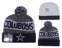 Wholesale DALLAS Football Beanies Team Hat Winte Rrugby Caps Popular Beanie Caps Skull Caps Best Quality Women Men Sports Caps