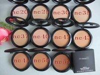 Wholesale 2016 New Makeup Studio Fix Face Powder Plus Foundation g NC cosmetics Face Power colors