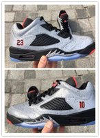 air dampers - New Air Retro V Mens Basketball Shoes Sneakers s low Neymar space m reflective effect Cement grey men shoe