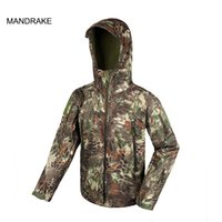 Wholesale Tactical Breathable Jackets Waterproof Windproof Hunting Jacket Stalker Shark Skin th Generation for Outdoor Sport CL34