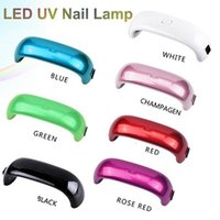 Wholesale Mini LED Nail Lamp W LED UV Nail Lamp Nail Dryers USB Electric Curing Lamp Machine Seconds Fast Dry