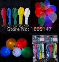 led balloons - 20pcs LED Light Balloons Romantic Luminous Latex Ballons for Wedding and Party Decoration Balloons Cheap Balloons