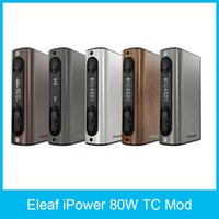 adding functions - 100 Original Eleaf iPower W TC Mod mah Battery Firmware upgraded Latest Firmware Newly Added Reset Function