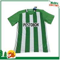 atletico nacional - 2016 Soccer Jersey Atletico Nacional Medellin Maillot de foot Ibarbo Diego Arias Cardenas Luis Carlos Home Football Shirts