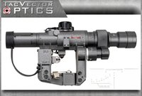 ak rifle scope - Dragunov x or x mm SVD First Focal Plane Sniper Rifle Scope Fit AK Illuminated FFP Reticle Riflescope for Hunting Shooting