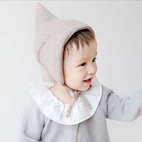 baby bomber hat - All For Children Clothes Accessories Kids Casual Bomber Baby Hat Warm Knitted Brand Design Factory Made Cheap Cap
