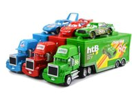 Wholesale Original Cars No Mack amp The King No Mcquen No HTB Diecast Metal Loose Toy Car Set Lightning McQueen