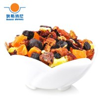 chinese dried fruit - 100g Chinese herb tea organic Blueberry taste dried Fruit Tea fruit flower tea fruit flavored tea