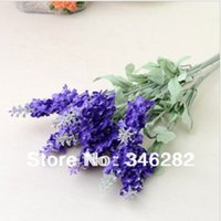 artifial flowers - lavender flower simulation table silk artifial flower decoration laid floral