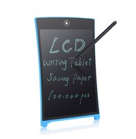 Wholesale HOWSHOW inch LCD Writing Board writing tablet mini blackboard Factory direct sale Accept custom white board memo board Free shiping