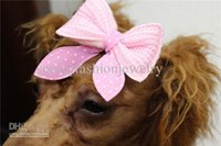 Wholesale Dog headdress Korean wool bow Pet Products Pet Accessories animal accessories Christmas gift
